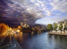 Pont de la Tournelle Paris France